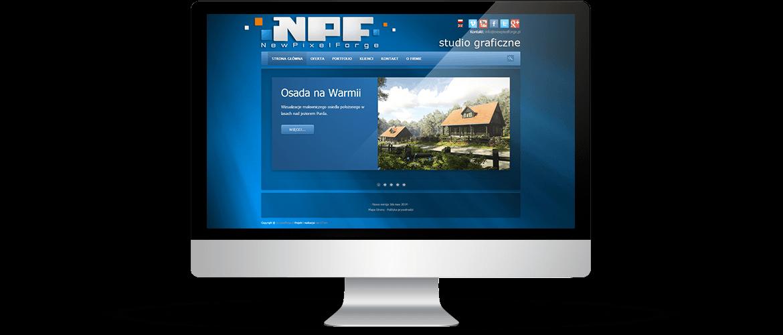 Strona NewPixel Forge