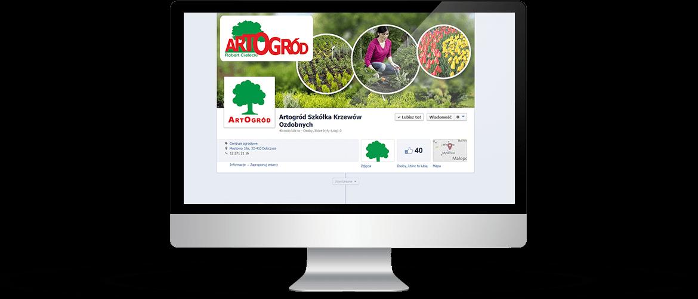 Profil Facebook -ArtOgród